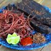 Cách chế biến món thịt trâu gác bếp Sapa