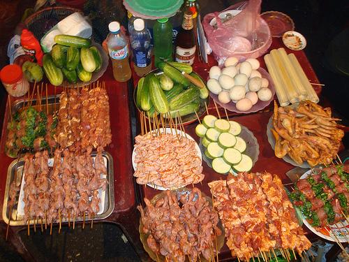 Du lịch Sapa thưởng thức đặc sản món nướng Sapa.