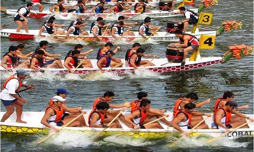 lễ hội đua thuyền ở Phú Quốc