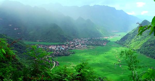 Vẻ đẹp của thung lũng Mai Châu