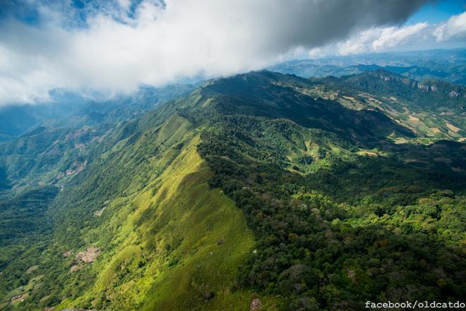 Núi Pha Luông ở Mộc Châu