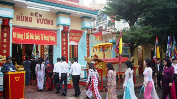 Nghi thức trang trọng và ý nghĩa tại lễ hội Đền Hùng Nha Trang