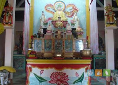 Chánh diện chùa Sung Hưng Cổ Tự
