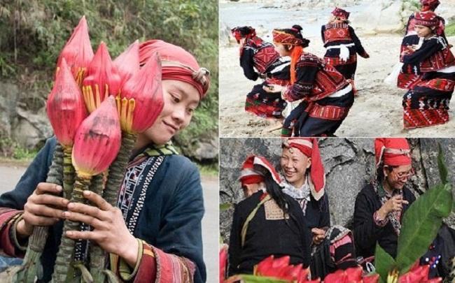 """Đến Sapa xem """"Hội hoa chuối"""" độc đáo của dân tộc Xá Phó"""