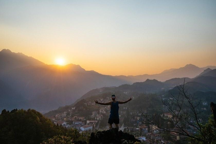 Sapa là nơi bạn có thể sống hòa mình cùng núi non trời đất