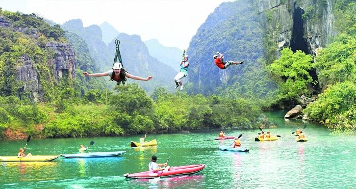 Những hoạt động vui chơi giải trí tại suối Mọoc