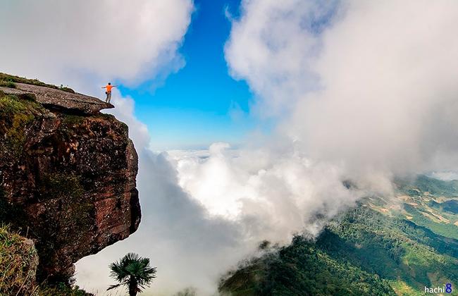 Ngắm mây mờ trên đỉnh Pha Luông