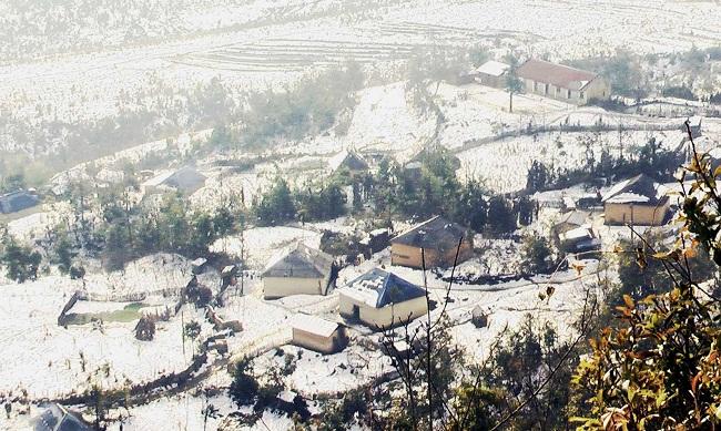 Sapa mùa tuyết rơi