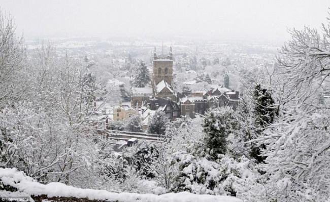 Vẻ đẹp của Sapa mùa tuyết rơi