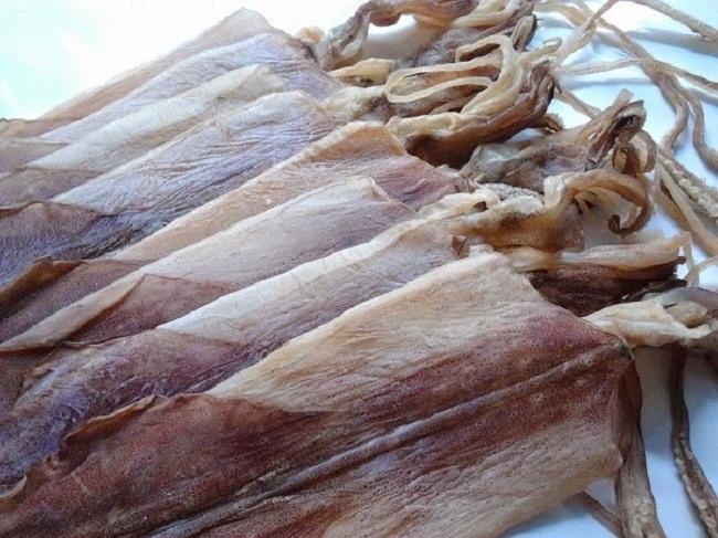 Mực khô - Đặc sản Quảng Ninh