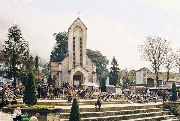 Nhà thờ đá Sapa Lào Cai