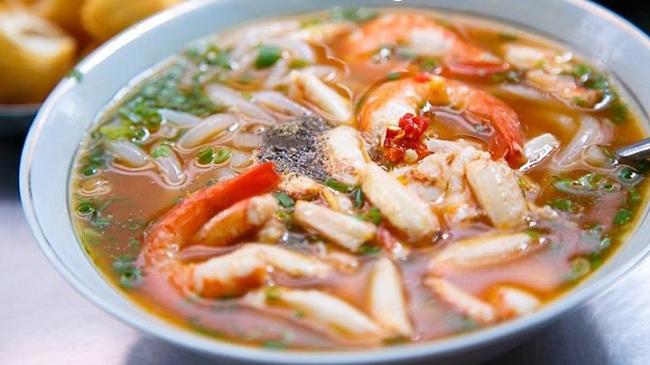 đặc sản cháo canh Quảng Bình