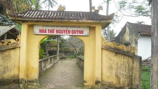 Đền thờ Nguyễn Quỳnh( Trạng Quỳnh)